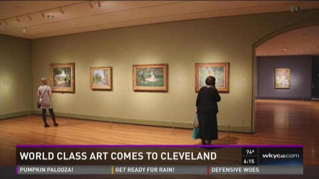 World class art comes to Cleveland