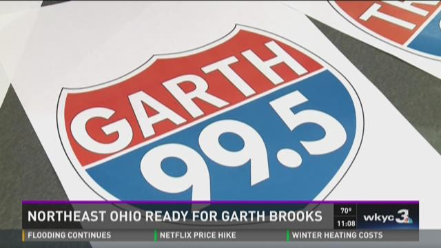 Northeast Ohio ready for Garth Brooks