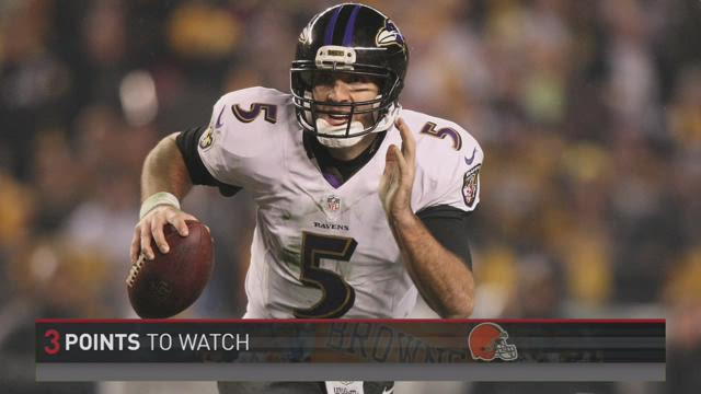 John's Take:  3 Points to Watch for Browns vs Ravens
