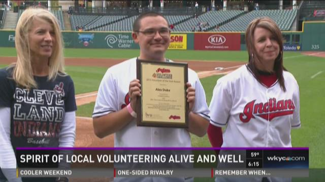Spirit of volunteering alive in CLE