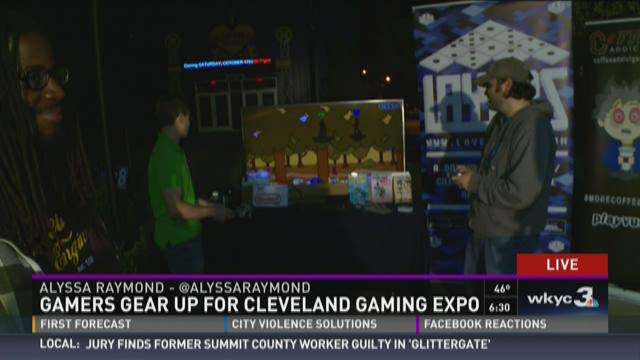 Gamers gear up for Cleveland Gaming Expo 2