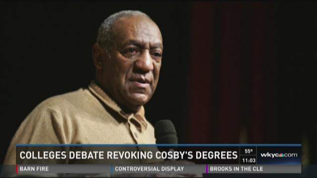 Should Bill Cosby keep honorary degrees?