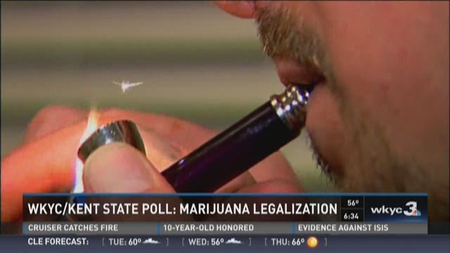 WKYC/Kent State Poll: Marijuana Legalization