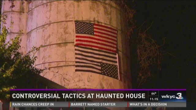 Popular haunted house sparks controversy