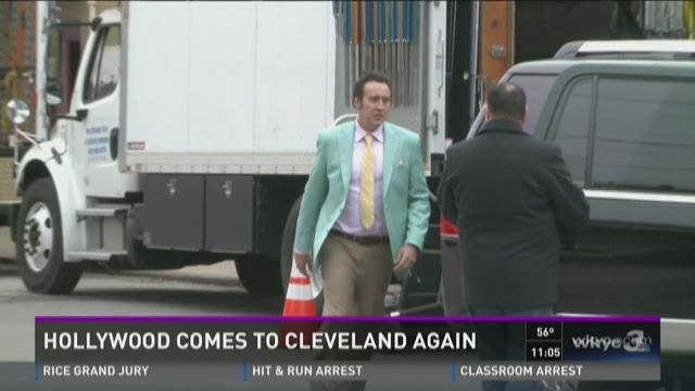Nicolas Cage filming movie in Cleveland