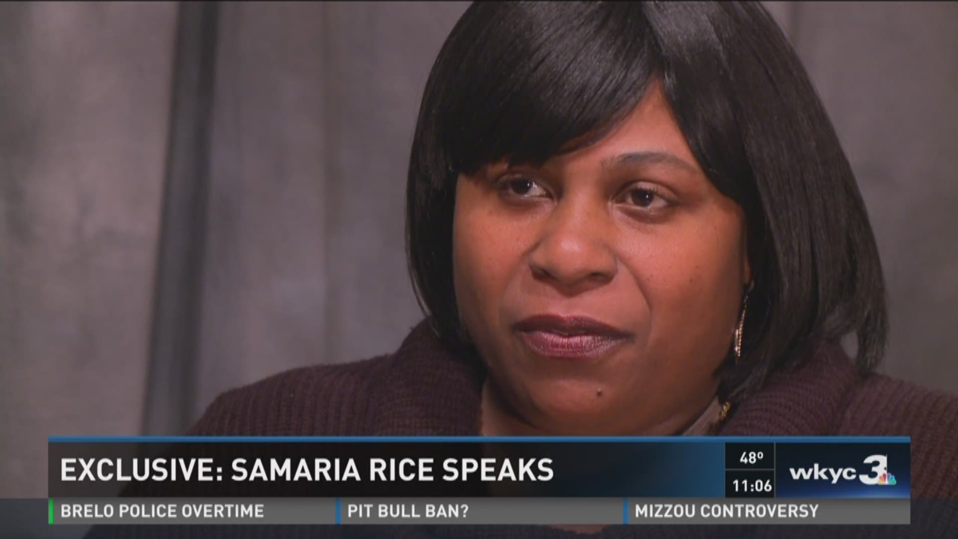 EXCLUSIVE VIDEO   Tamir Rice's mother speaks out