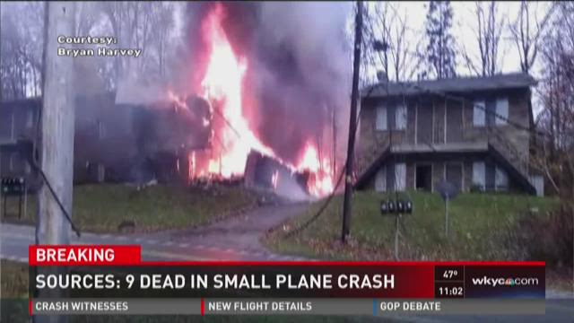Sources: 9 dead in small plane crash in Akron