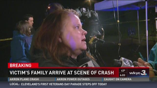 Family says sister was in deadly Akron plane crash
