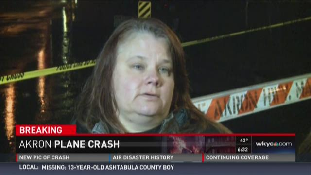 Woman says sister was likely in Akron plane crash