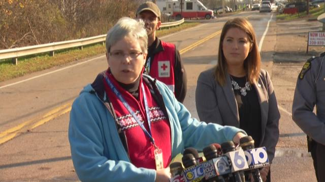 Authorities hold press conference on Akron plane crash.