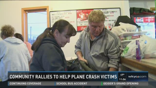 Akron rallies around families displaced by plane crash