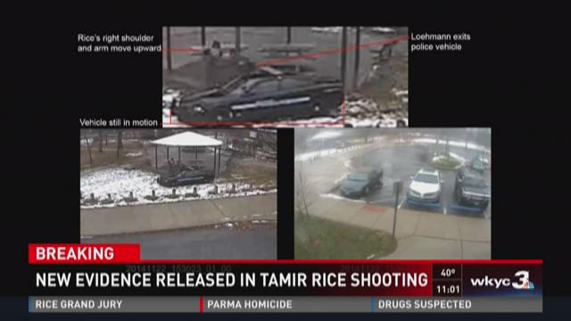 'Enhanced video' evidence released in Tamir Rice shooting